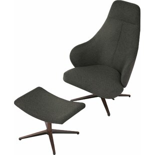 Bradhurst Lounge Chair by Modloft Black