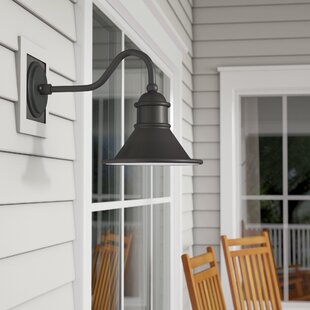 Vivek 1-Light Barn Light by Gracie Oaks