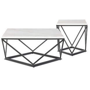 Ivy Bronx Aledo 2 Piece Coffee Table Set