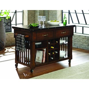 Hakana Kitchen Island Loon Peak