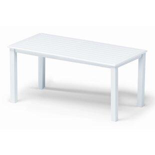 Telescope Casual Marine Grade Polymer Tables Aluminum Coffee Table