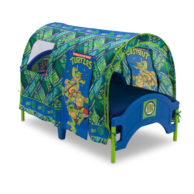 Nickelodeon Teenage Mutant Ninja Turtles Toddler Tent Bed  sc 1 st  Wayfair & Delta Children Nickelodeon Teenage Mutant Ninja Turtles Toddler ...