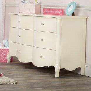 Julia 6 Drawer Double Dresser