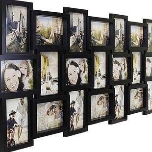 4 photos Multi-Ouverture Carré Collage Cadre Photo-Détient 4