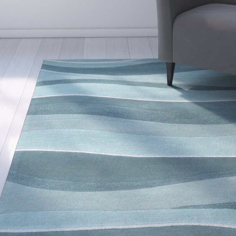 Zipcode Design Cheston Ocean Area Rug & Reviews | Wayfair