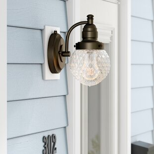 Charlton Home Michaels Outdoor Sconce