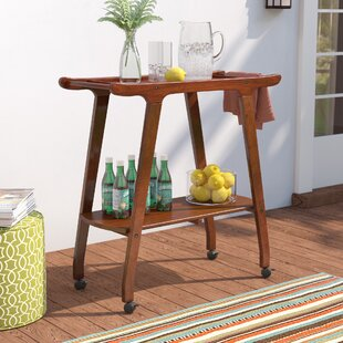 Byron Outdoor Wood Barcart