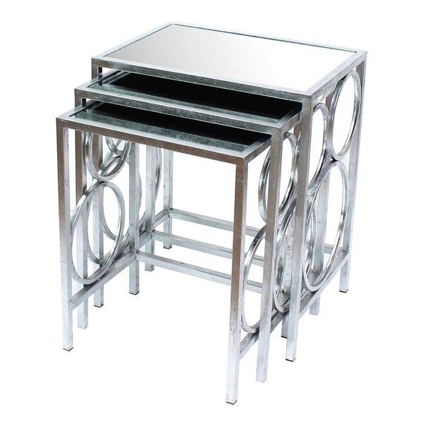sc 1 st  Wayfair & Teton Home 3 Piece Nesting Table Set | Wayfair
