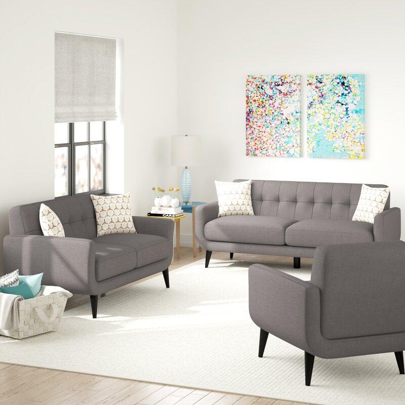 Ivy Bronx Tifton Living Room Set Reviews Wayfair