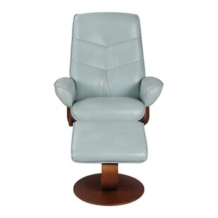 Fontenot Manual Swivel Recliner with Ottoman by Latitude Run