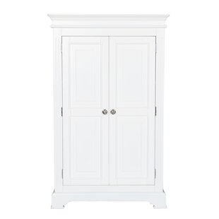 Greensboro 2 Door Wardrobe by Three Posts