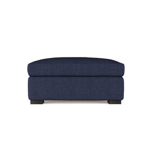 17 Stories Letterly Standard Ottoman