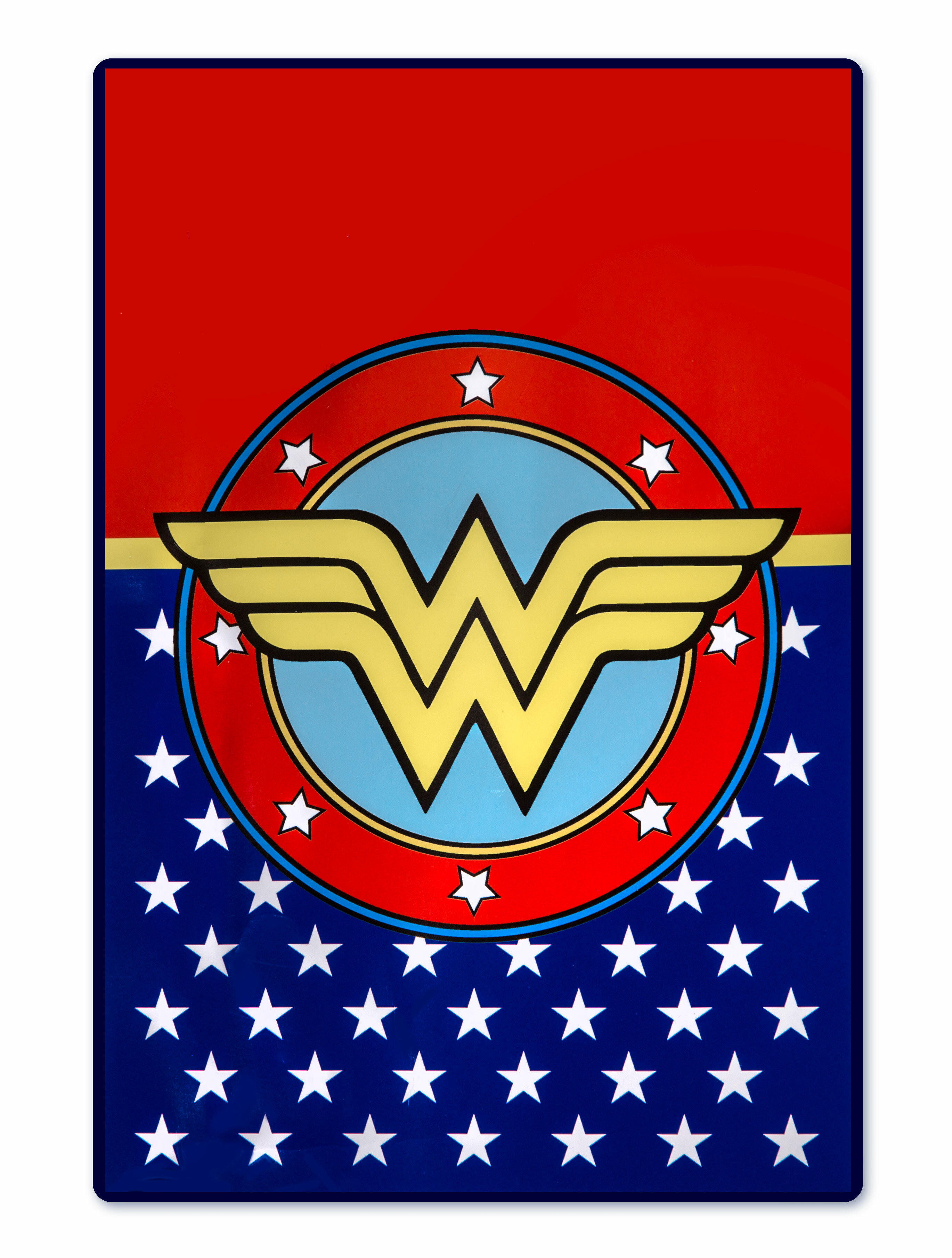 Crover Dc Comics Wonder Woman Logo Red Blue Area Rug Wayfair