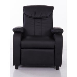 PU Leather Comfortable Kids Recliner by Mochi Furniture