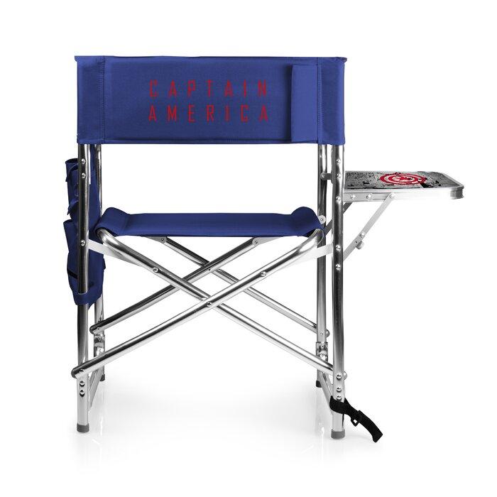 Astounding Captain America Folding Camping Chair Inzonedesignstudio Interior Chair Design Inzonedesignstudiocom