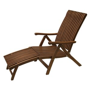 tomblin 5 position lounger with ottoman