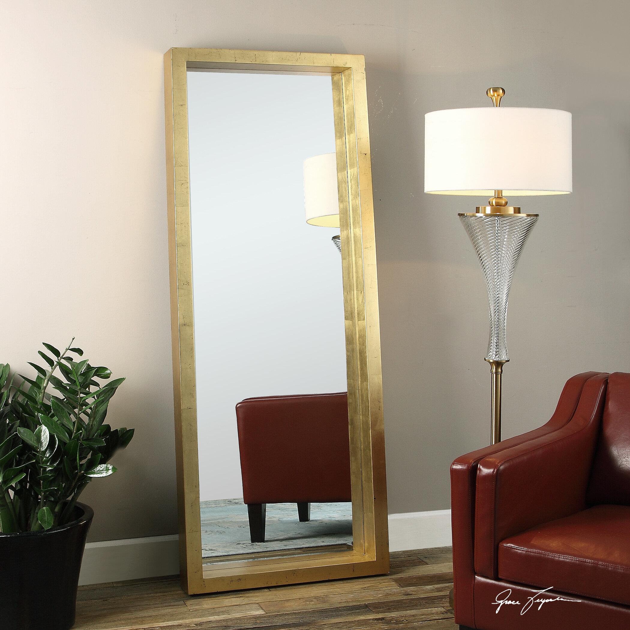 Lamothe Beveled Full Length Wall Mirror