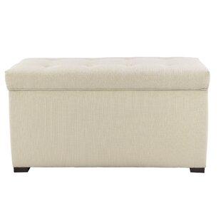 MJL Furniture Fabric Storage Bench