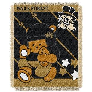 Comparison Collegiate Wake Forest Baby Blanket ByNorthwest Co.