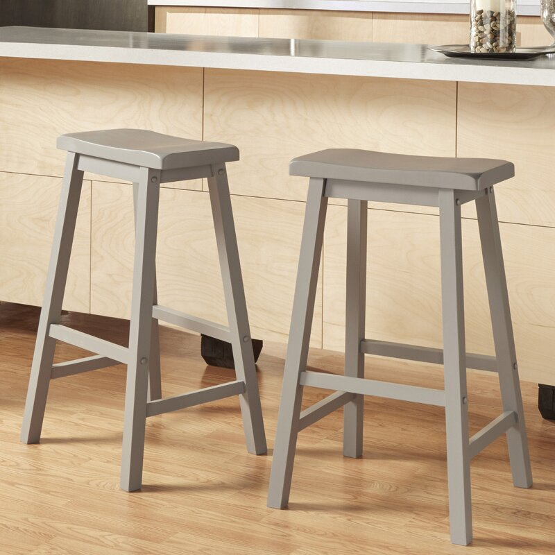 Sharman 29  Saddle Bar Stool & Three Posts Sharman 29
