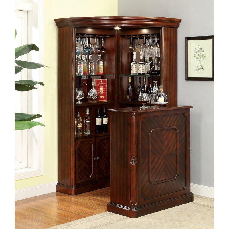 Deasia Corner Curio Cabinet
