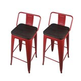 Alric Bar & Counter Stool (Set of 2) by 17 Stories