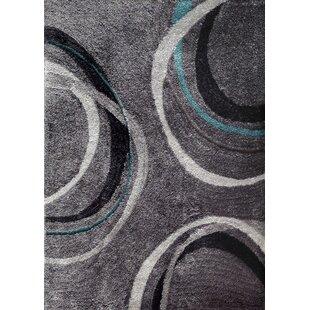 Black and turquoise rug Living Room Lola Handtufted Gray Area Rug Wayfair Rug Factory Plus Area Rugs Youll Love Wayfair