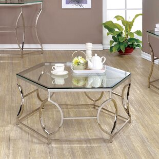 Frostia 3 Piece Coffee Table Set