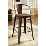 Nick 25 Bar Stool (Set of 2) by 17 Stories