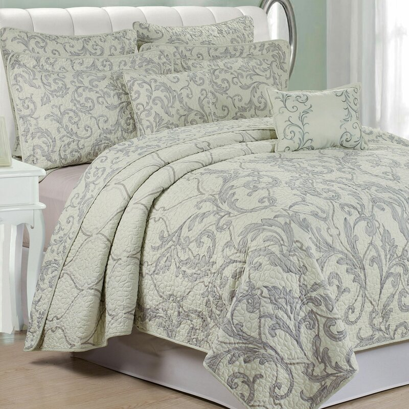 Marisol 7 Piece Quilted Coverlet Set