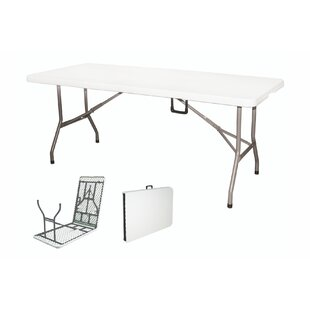 Folding Plastic Camping Table By Galileo