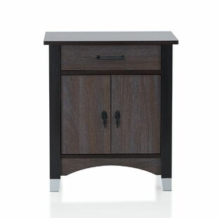 Adelynn Elegant 1 Drawer Nightstand