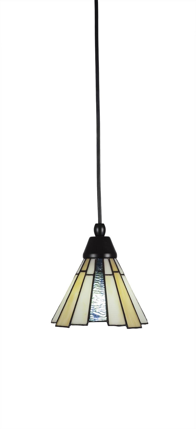 Astoria Grand Ratchford 1 Light Single Cone Pendant Wayfair