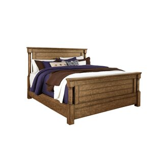 Loon Peak Burndale Panel Bed
