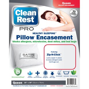Pro Pillow Protector (Set Of 4) by CleanRest #1