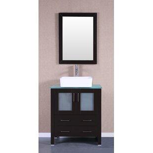 Alva 30 Single Bathroom Vanity Set with Mirror