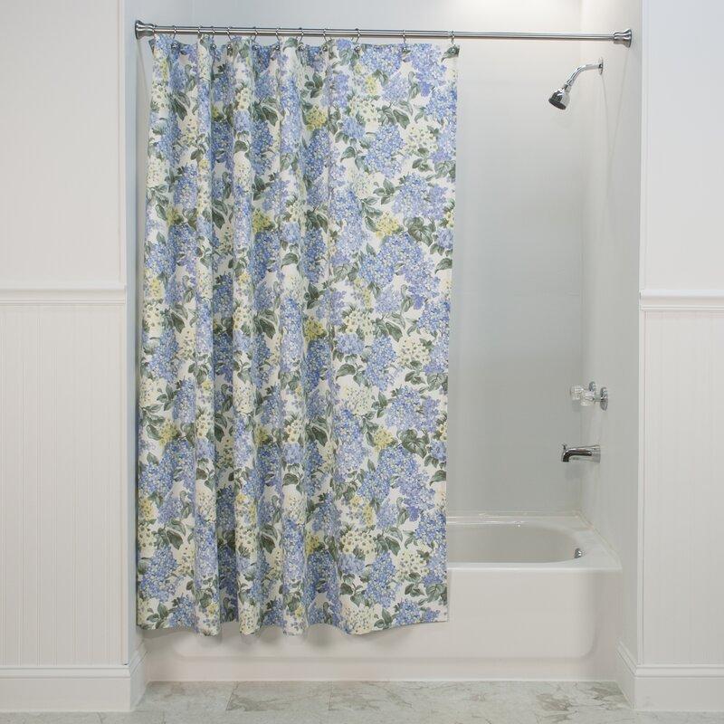 One Allium Way Letman 100 Cotton Floral Single Shower Curtain Wayfair