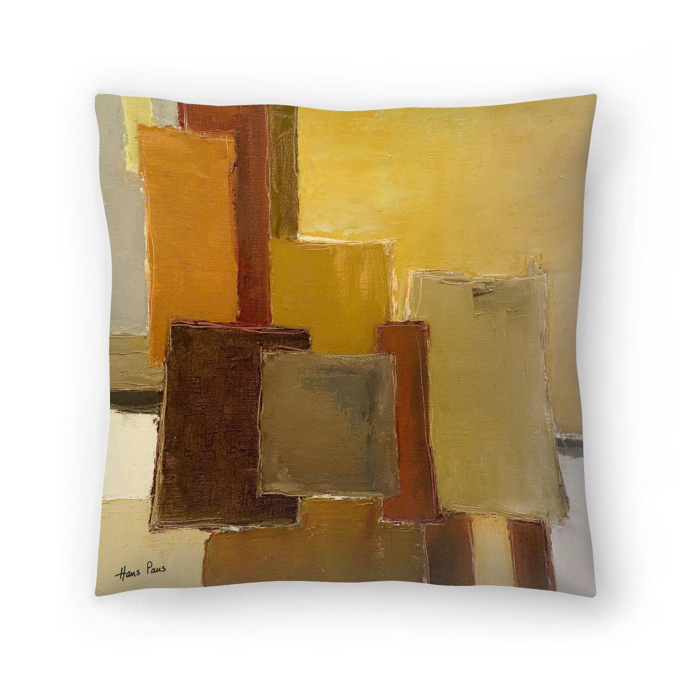 East Urban Home Hans Paus Concrescence 4 Throw Pillow Wayfair