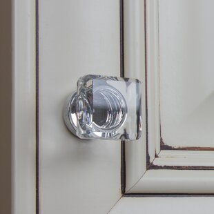 Platinum Square Knob (Set of 10)