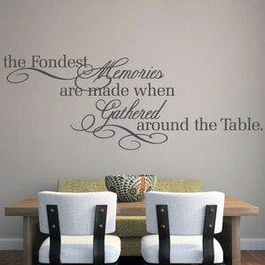 The Fondest Memories Wall Decal Part 87