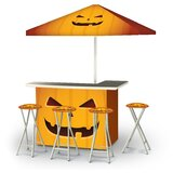 Wytheville Halloween Jack O Lantern 6-Piece Bar Set