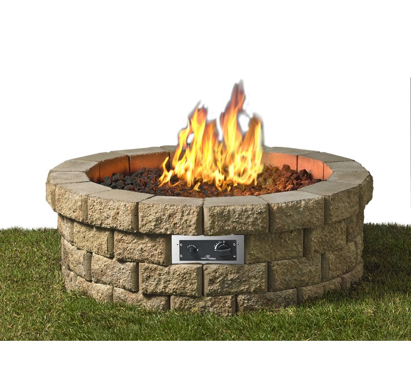 The Outdoor GreatRoom Company Hudson Paver Propane/Natural ...