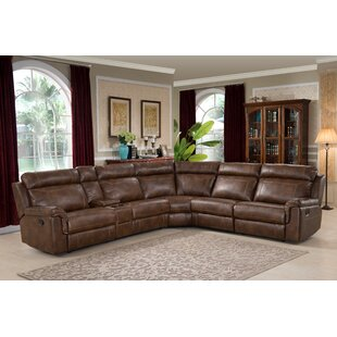 Kuo Reclining Sectional by Red..