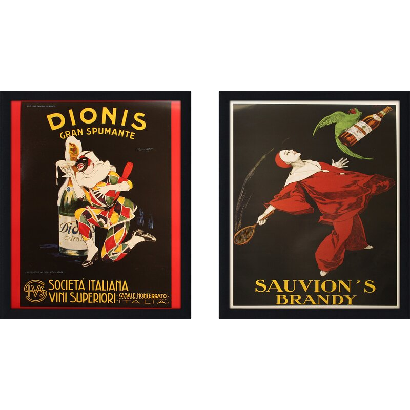 Vintage Sauvion/'s Brandy Poster  Print on Paper or Canvas Giclee