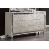 Trungle 6 Drawer Double Dresser by Cozzy Design