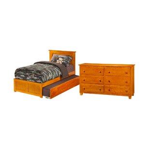 Lizzie Panel Bedroom Set (Set of 3) by Viv   Rae