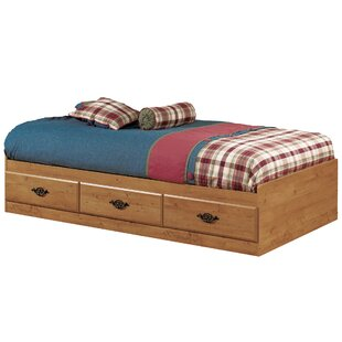 Affordable Prairie Twin Mate's & Captain's Bed with 3 Drawers by South Shore Reviews (2019) & Buyer's Guide