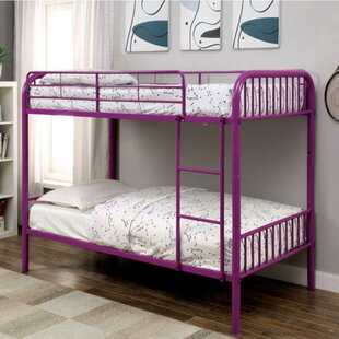 Silkeborg Twin/Twin Bunk Bed by Harriet Bee Great Reviews