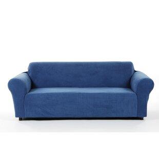 Latitude Run Box Cushion Sofa Slipcover