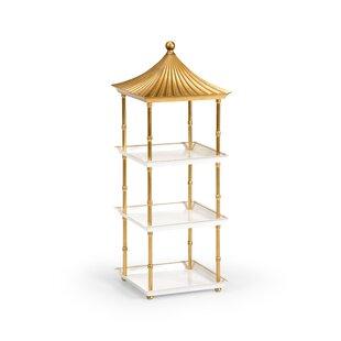 Pagoda Etagere Bookcase